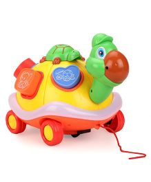 Mitashi Skykidz Learning Turtle Pull along Toy - Multicolor