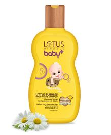 Lotus Herbals Baby Plus Little Bubbles Body Wash & Shampoo - 200 ml