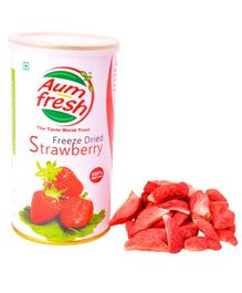 Aumfresh Freeze Dried Strawberry - 25 gm