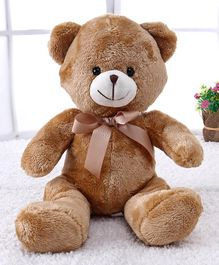 Starwalk Teddy Bear With Ribbon Brown - Height 30 cm