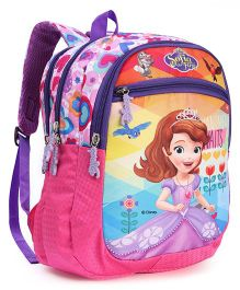 Disney Sofia School Bag Pink - 13.1 Inches (Color May Vary)
