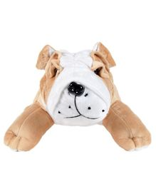 Ultra Bull Dog Soft Toy Brown - Height 45 cm