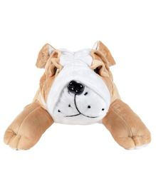 Ultra Bull Dog Soft Toy Brown - Height 30 cm