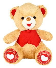 Ultra Charlie Teddy Bear Soft Toy Brown - Height 38 cm
