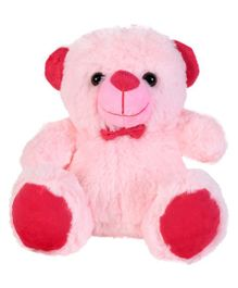 Ultra Jolly Teddy Bear Soft Toy Pink - Height 17 cm