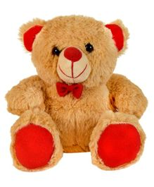 Ultra Jolly Teddy Bear Soft Toy Brown - Height 17 cm