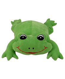 Ultra Froggy Soft Toy Green - Height 30.4 cm