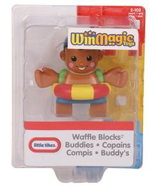Waffle Blocks Figure Pack - Brown