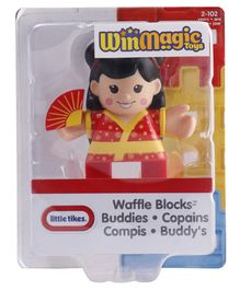 Waffle Blocks Figure Pack - Red