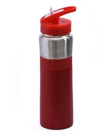 Pix Stainless Steel Water Bottle Red - 750 ml
