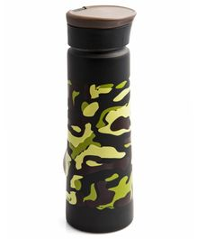 Pix Stainless Steel Water Bottle Green - 800 ml