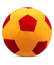 O Teddy Big Soft Toy Premium Ball Yellow and Red - 22 cm