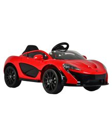 GetBest Officially Licensed Mclaren P1 Battery Operated  Ride On Car for Kids - Red