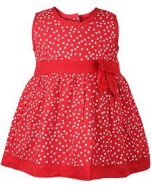 Little Pixies - Bow Frock With Bloomer
