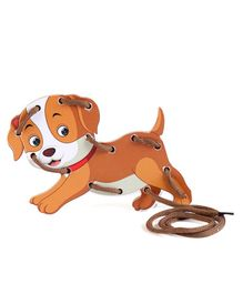Omocha Lace It Up Dog - Brown