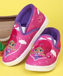 Shimmer & Shine Casual Shoes - Pink Purple