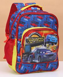 Disney Pixar Cars Bag Blue Red - Height 16 inches