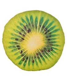 Deals India 3D Fruit Back Cushion - Green