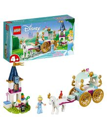Lego Disney Cinderella's Carriage Ride Building Block Set Multicolour - 91 Pieces-41159