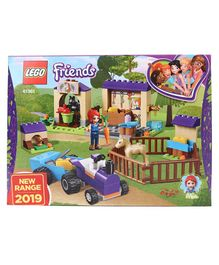 Lego Friends Mia's Foal Stable Building Blocks Set Multicolour - 118 Pieces - 41361