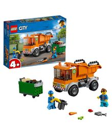 Lego City Garbage Truck Multicolour - 90 Pieces-60220