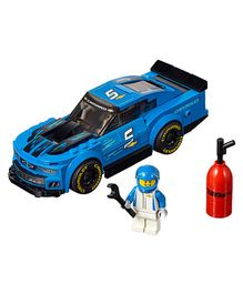 Lego Speed Champions Chevrolet Camaro ZL1 Race Car Building Set - 198 Pieces - 75891