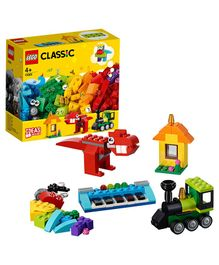 Lego Classic Bricks And Ideas Building Set - 123 Pieces-11001