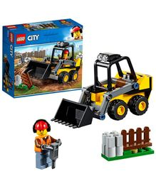 Lego Construction Loader - Yellow-88 Pieces-60219