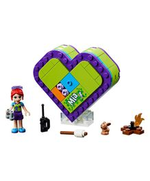 Lego Friends Mia's Heart Box Pieces 83 - Purple Green-41358