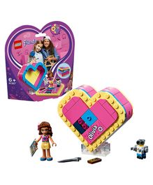 Lego Friends Olivia's Heart Box Pieces 85 - Purple Pink-41357