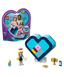 Lego Friends Stephanie's Heart Box Pieces 85 - Purple Blue-41356