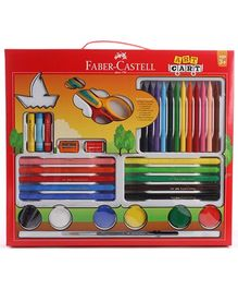 Faber Castell Art Cart Gift Set (Color May Vary)