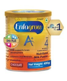 Enfagrow A+ Stage 4 Nutritional Milk Powder Chocolate - 400 grams