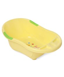 Babyhug Baby Bath Tub Bunny Print - Yellow