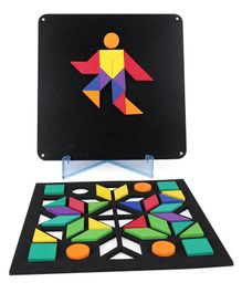 Play Panda  Fun Magnetic Shapes Type 1 - 44 Pieces