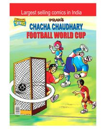 Chacha Chaudhary Football World Cup Comic Book - English