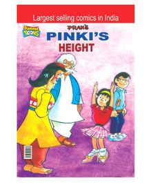 Pinki's Height Comic Book - English