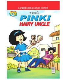 Pinki Hairy Uncle Comic Book - English