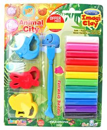 Imagician Playthings Craftival Clay Animal Moulds Kit - Multicolour