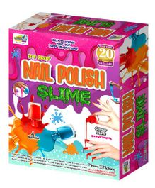 NHR Mansaji Nail Polish Slime Making Kit - Multicolour