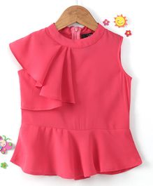 Pikaboo Solid Sleeveless Top - Pink