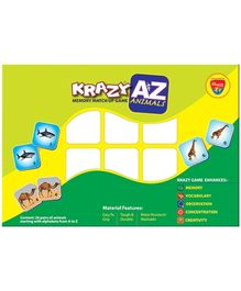 Krazy A to Z Animals Memory Matchup Game