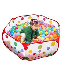 Playhood Fun Ball Pool With 50 Balls - Multicolour