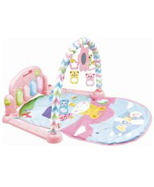 Playhood Play Gym With Foot Piano - Pink