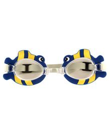 PASSION PETALS Anti-Fog Swimming Goggles Fish Design - Blue
