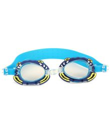 Passion Petals Anti-Fog Swimming Goggles Crab Design - Blue