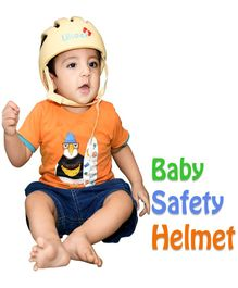 Liltoes Baby Safety Helmet - Light Yellow