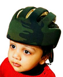 Liltoes Baby Safety Camouflage Helmet - Green