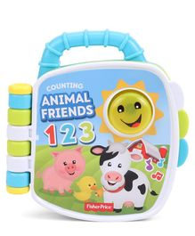 Fisher Price Counting Animal Friends Book - Multicolour