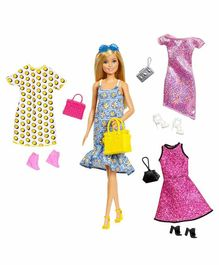 Barbie Fashion Doll With Accessories Multicolor - Height 29 cm